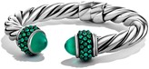 David Yurman Osetra Bracelet with Green Onyx