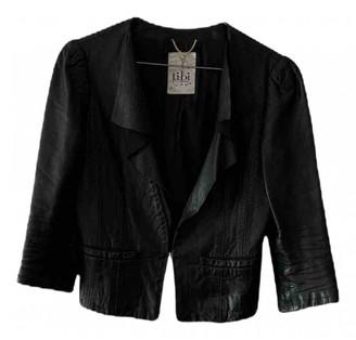 Tibi Black Leather Leather jackets