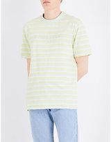GUESS JEANS David striped cotton T-shirt
