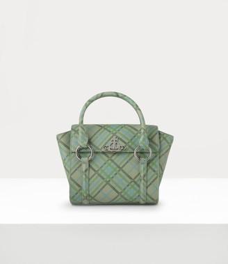 Vivienne Westwood Debbie Small Handbag Green Tartan