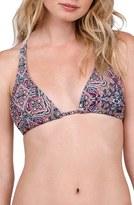 Volcom Women's Sea La Vie Print Bikini Top