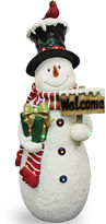 NATIONAL TREE CO National Tree Company 28 White Snowman with Sign