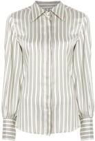 Isabel Marant Verdigris stripe shirt