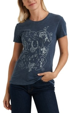 Lucky Brand Bandana Graphic T-Shirt