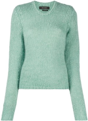 Isabel Marant Chunky Knit Mohair-Wool Blend Jumper