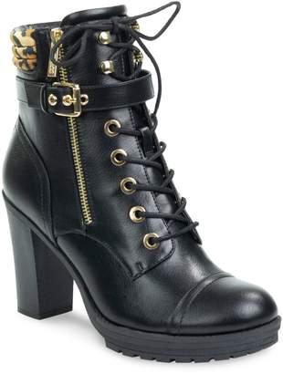 GUESS Jaimey Heeled Combat Boots