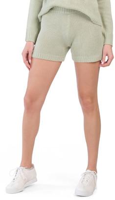 Juniors Penny Knit Shorts