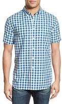 Grayers 'Grange' Regular Fit Gingham Short Sleeve Woven Shirt