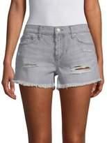 Joe's Jeans Gabrielle Distressed Denim Shorts