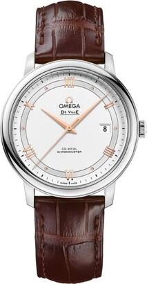 Omega Stainless Steel De Ville Prestige Watch 40mm