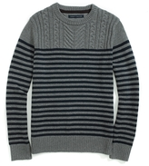 Tommy Hilfiger Cable Knit Crew Neck