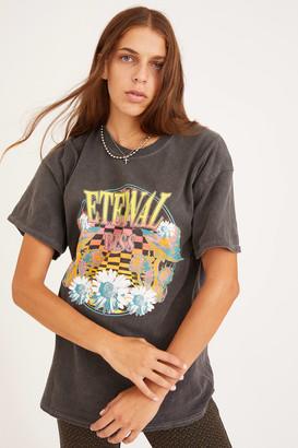 Urban Outfitters Eternal Bliss Overdyed T-Shirt Dress
