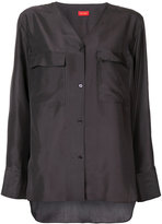 TOMORROWLAND V-neck buttoned blouse