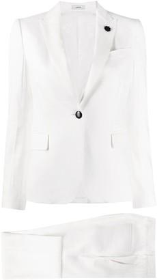 Lardini slim-fit two-piece suit
