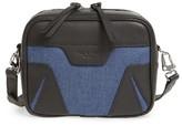 Rag & Bone Mini Flight Leather & Denim Camera Bag - Blue