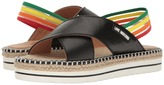 Love Moschino Rainbow Strap Sandal Women's Sandals