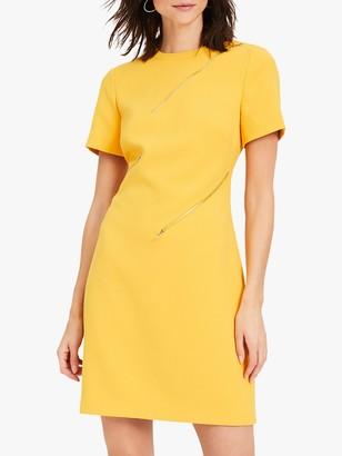 Damsel in a Dress Zaylee Zip Detail Dress, Mustard