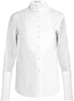 J.W.Anderson Detachable wingtip-collar cotton tuxedo shirt