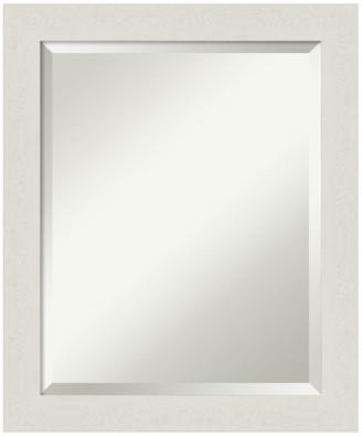 Amanti Art Bathroom The World S, Landover Rustic Distressed Bathroom Vanity Mirror