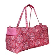 Waverly Women's Pink Paisley Duffel Bag