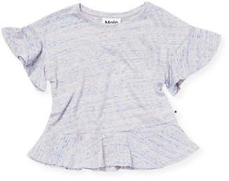 Molo Flutter Sleeve T-Shirt