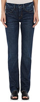 Helmut Lang WOMEN'S RELAXED TAPERED JEANS-NAVY SIZE 25