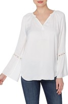 Catherine Malandrino Women's Finley Bell Sleeve Blouse