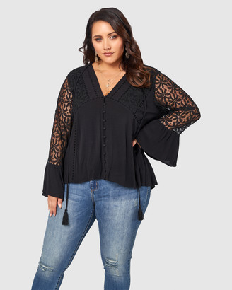 The Poetic Gypsy Universal Navigator Lace Blouse