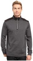 Bugatchi Gino Long Sleeve 1/4 Zip Knit Shirt