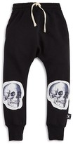 Nununu Boys' Skull Patch Harem Pants - Sizes 2-9