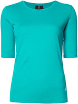 Bogner three-quarter sleeve top - women - Cotton - 36