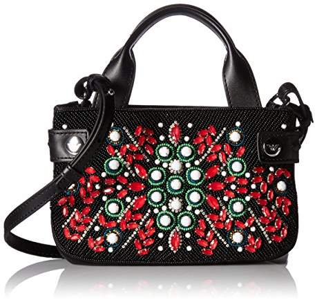 Armani Jeans Embellished Crossbody Mini Bag