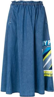 Kenzo Hyper denim skirt