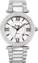 Freelook Unisex HA1542M-4 Cortina XL Oversized Analog Silver Tone Roman Numeral Dial Watch