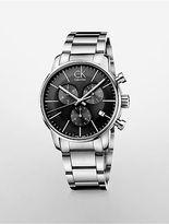 Calvin Klein Womens City Chronograph Watch Silver