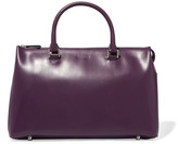 Jil Sander Glossed-leather tote