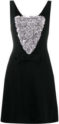 Moschino Ruffled Panel Dress