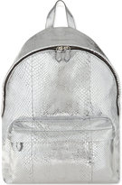 Givenchy Classic Metallic Python Backpack