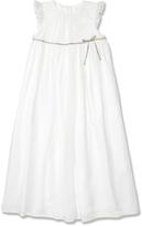 Marie Chantal GirlsWhite Silk Princess Dress