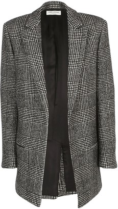Saint Laurent Check Motif Jacket