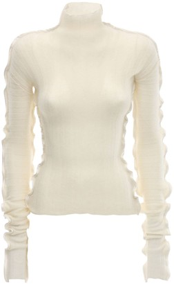 DANIELLE FRANKEL Cashmere & Silk Knit Sweater
