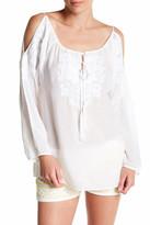 Melissa Odabash Amandine Cold Shoulder Shirt