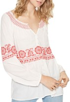 Sanctuary Zola Boho Peasant Top