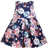 Imoga Sleeveless Pleated A-Line Dress, Size 8-14