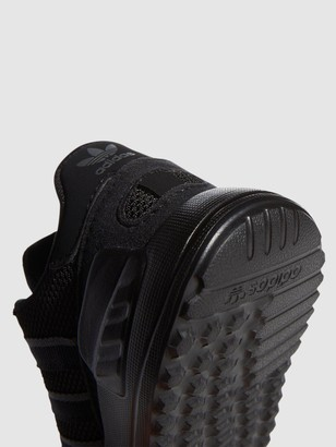 adidas La Trainer Lite Infant Trainers - Black