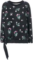 Moncler floral print sweatshirt - women - Polyester/Spandex/Elastane/Viscose - XS