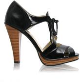 ASOS Tie Front Stacked Platform Sandal