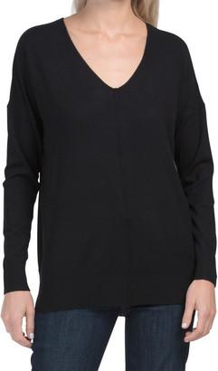 V-neck Long Sleeve Tunic