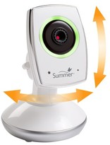 Summer Infant Baby Link Wi-Fi Baby Monitor Camera - Smartphone/Tablet Compatible