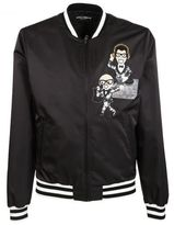 Dolce & Gabbana Musical Patch Bomber